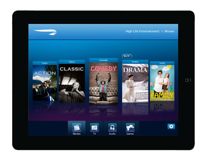 OpenSkies offers a new range of entertainment on iPad.
