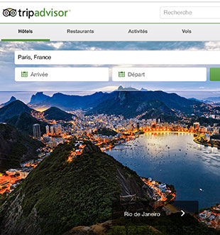 Tripadvisor launches an application for iPhone and Android