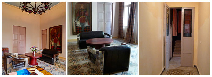 Inside the Villa ©Villa Clara (1) ©Marie Le Fort ( 2,3)